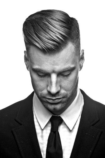 Men's Hair, Haircuts, Fade Haircuts, short, medium, long, buzzed, side part, long top, short sides, hair style, hairstyle, haircut, hair color, slick back, men's hair trends, disconnected, undercut, pompadour, quaff, shaved, hard part, high and tight, Mohawk, trends, nape shaved, hair art, comb over, faux hawk, high fade, retro, vintage, skull fade, spiky, slick, crew cut, zero fade, pomp, ivy league, bald fade, razor, spike, barber, bowl cut, 1960, hair trend 2015, men, women, girl, boy: