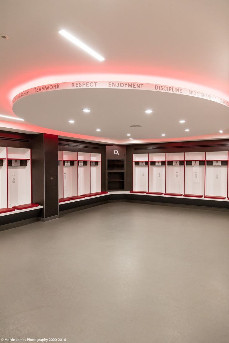 The England Changing Rooms at Twickenham Stadium   Photo Credit: Martin James