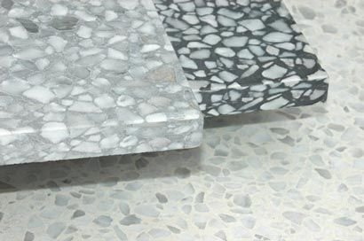EcoTerr Terrazzo Tiles http://www.coveringsetc.com/EcoTerrHome.aspx