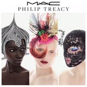 ... collab news: The M.A.C x Philip Treacy collection is on its way