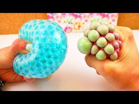 Orbeez Ball basteln | Antistressball selber machen | Knautsch Ball zum Stressabbau - YouTube