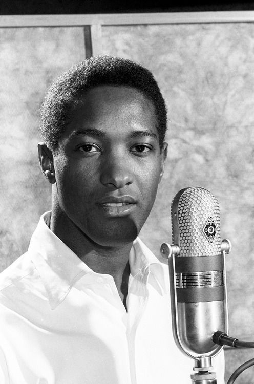 "Sam Cooke, 1963.    ""Sam Cooke was one of the best singer who ever lived, no contest."" - Jerry Wexler....x"