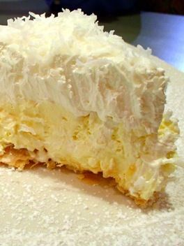 Heads up coconut lovers, this pie is amazing, totally decadent, and the coconut crust is absolutely awesome. The crust takes it from ordinary to sublime.(from previous pinner). Love coconut pie!!