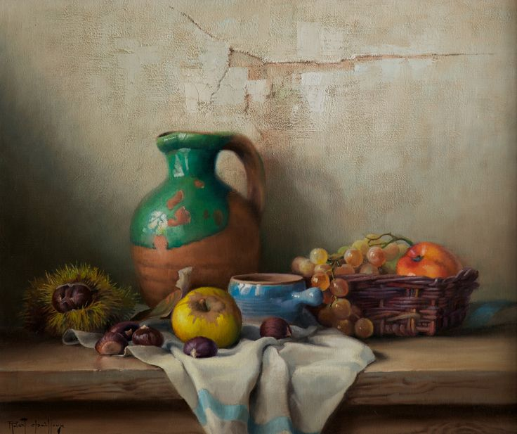 Fruit and Nuts by Robert Chailloux (£6,950) | Gladwell & Patterson