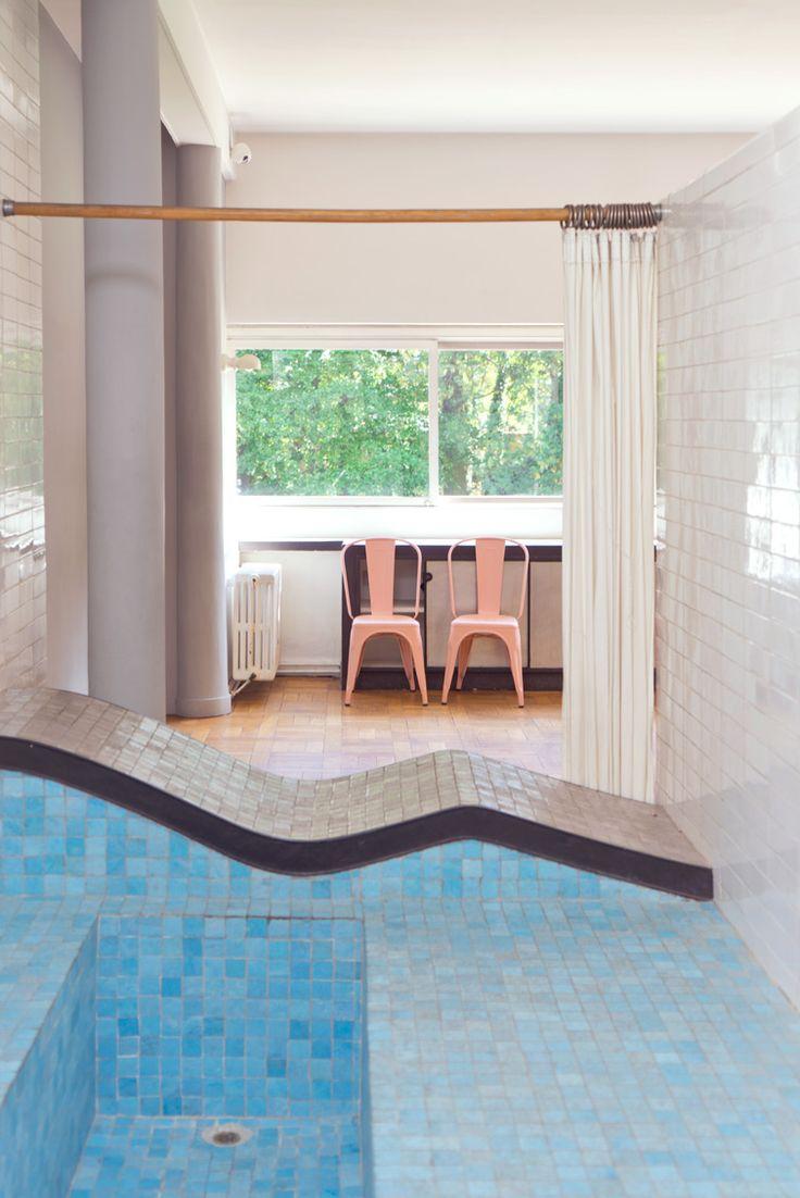 Le corbusier villa savoye interior - Villa Savoye By Le Corbusier