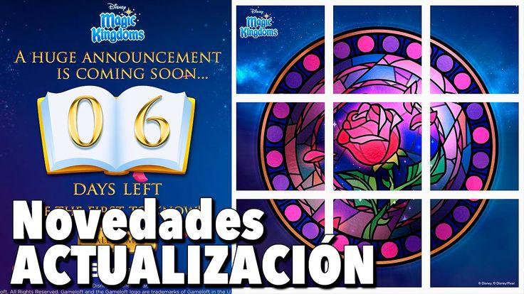 Novedades Actualización la Bella y la Bestia / Juego Disney Magic Kingdoms