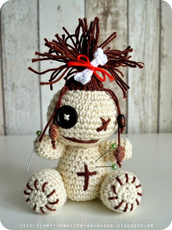 Besondere Momente... Häkel-Voodoo Puppe