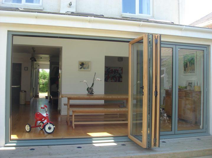 Idsystems Aluminium Clad Timber Bi Fold Doors Bi Fold
