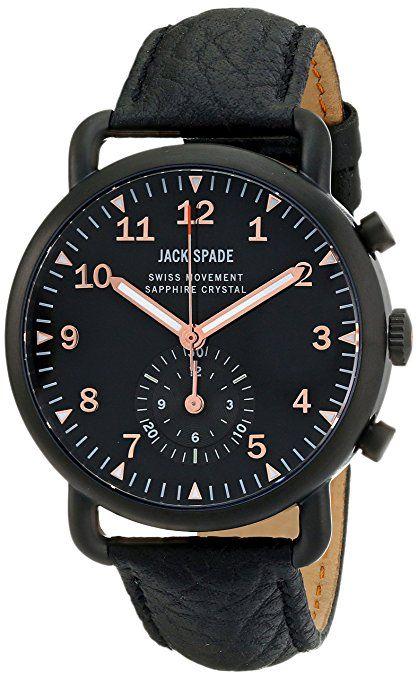 Para hombre Jack pala WURU0118 Fraser pantalla Swiss analógico de cuarzo reloj de Hombre de estilo