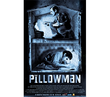 Pillowman by Martin McDonagh. absolutely freaking brilliant.