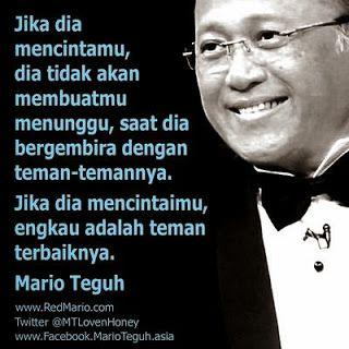 kata kata bijak Mario Teguh