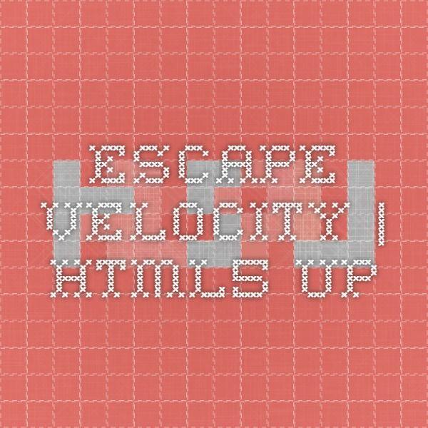 Escape Velocity | HTML5 UP