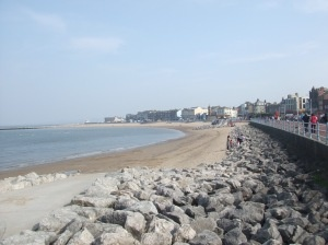 Morecambe low tide??
