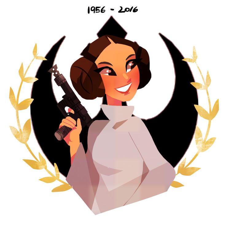 """Thank you for everything Carrie Fisher, you'll always be Princess Leia and much more for all of us, for everything you advocated, thank you"""