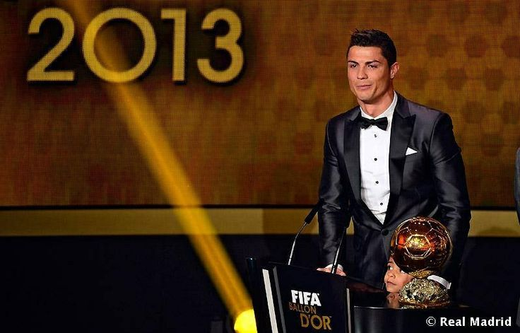 Well done. You deserve it. It's been a long time since a Real Madrid player has won this awarded. #halamadrid and #halacr7