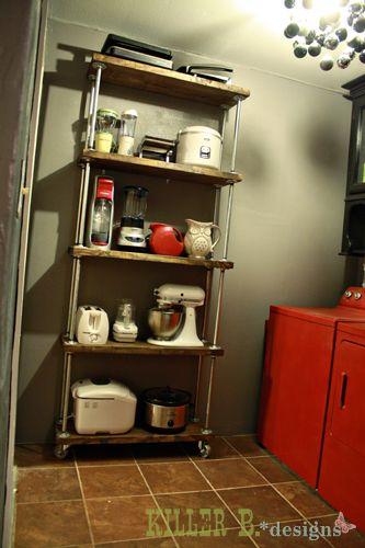 Industrial Pipe Shelves | Industrial Shelves Final3