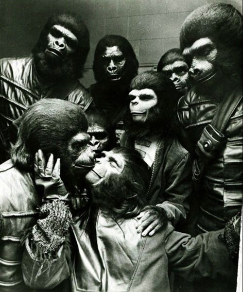 Thanks for Planet of the apes orgy think