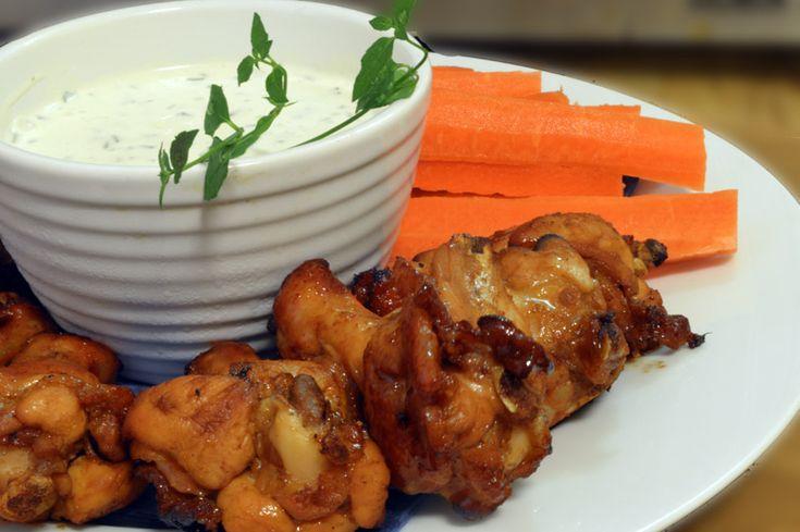 Hot Wings.  Om jeg hadde hatt en restaurant med kyllingvinger på menyen, hadde dette vært den hemmelige oppskriften!