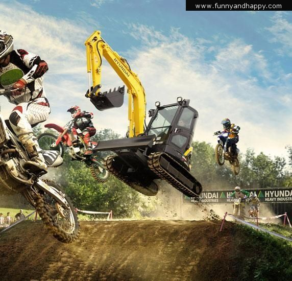 funny motocross tractor funny page funny pictures. Black Bedroom Furniture Sets. Home Design Ideas