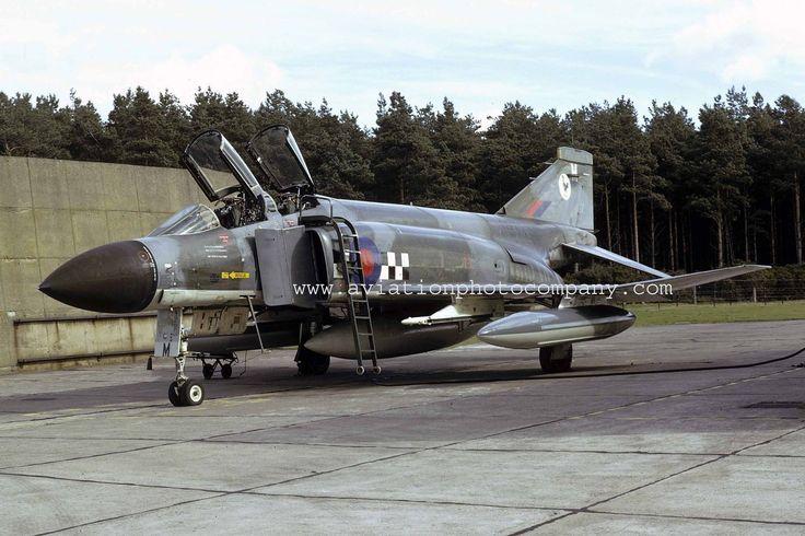 RAF 43 Sqn McDonnell F-4K Phantom FG.1 XV577/M (1974) Colour Photo | eBay