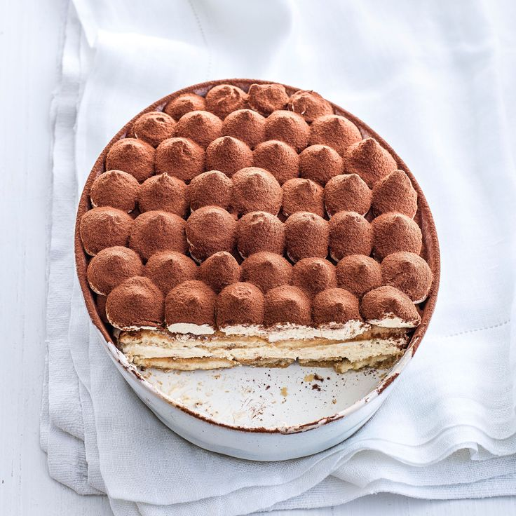 This tiramisu recipe combines creamy baileys with soft sponge fingers, strong coffee and sweet almond liqueur to make a boozy and indulgent wintery dessert.