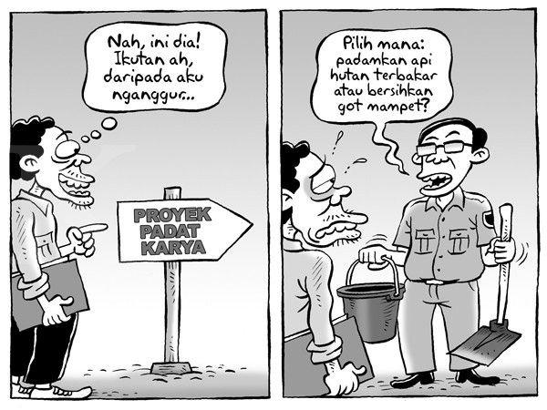 Kartun Benny, Kontan - Oktober 2015: Lowongan Kerja