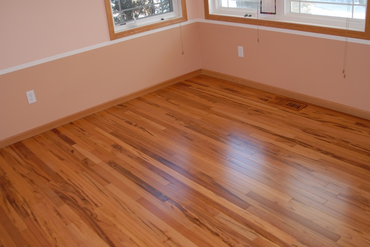 Tigerwood hardwood flooring exotic brazilian flooring for Exotic wood flooring