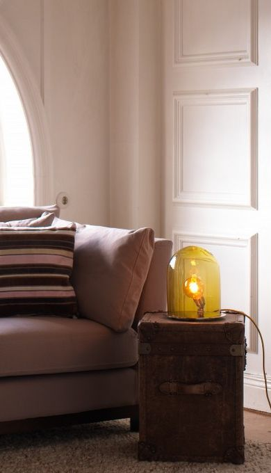 Glow in a dome  thehome.se #lampor #lighting
