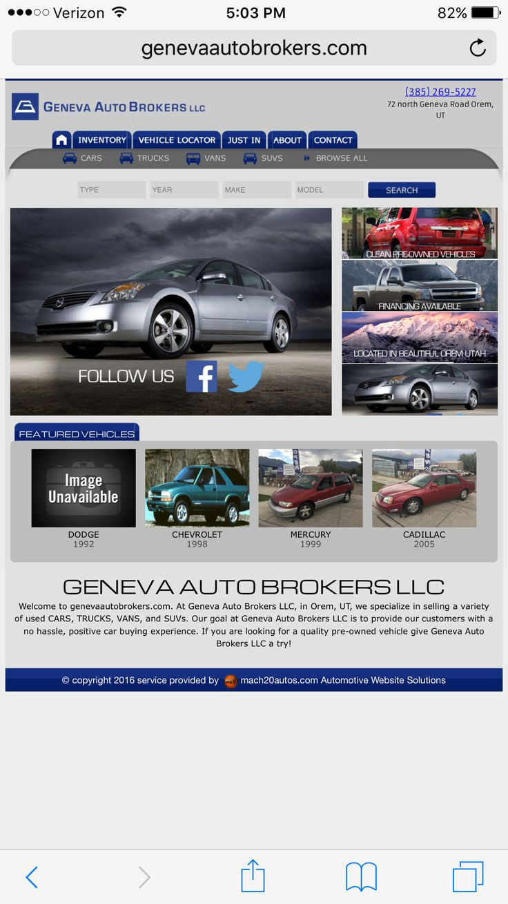 8 best images about Car Dealer Website Templates – Land Inventory Template