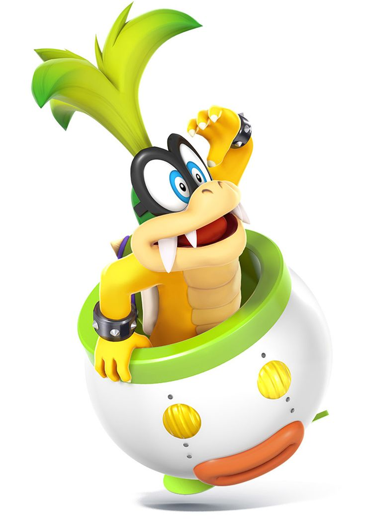 Iggy Koopa - Characters & Art - Super Smash Bros. for 3DS and Wii U