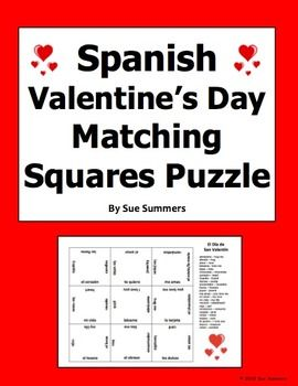 17 best images about spanish valentine 39 s day on pinterest spanish activities and ordinal numbers. Black Bedroom Furniture Sets. Home Design Ideas