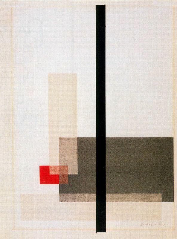 Bauhaus - Laszlo Moholy-Nagy - 1923 - Composicion