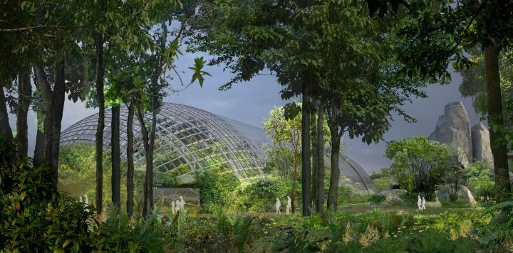 zoo de vincennes vue d 39 architecte de la grande serre artefactory ajoa btua master. Black Bedroom Furniture Sets. Home Design Ideas