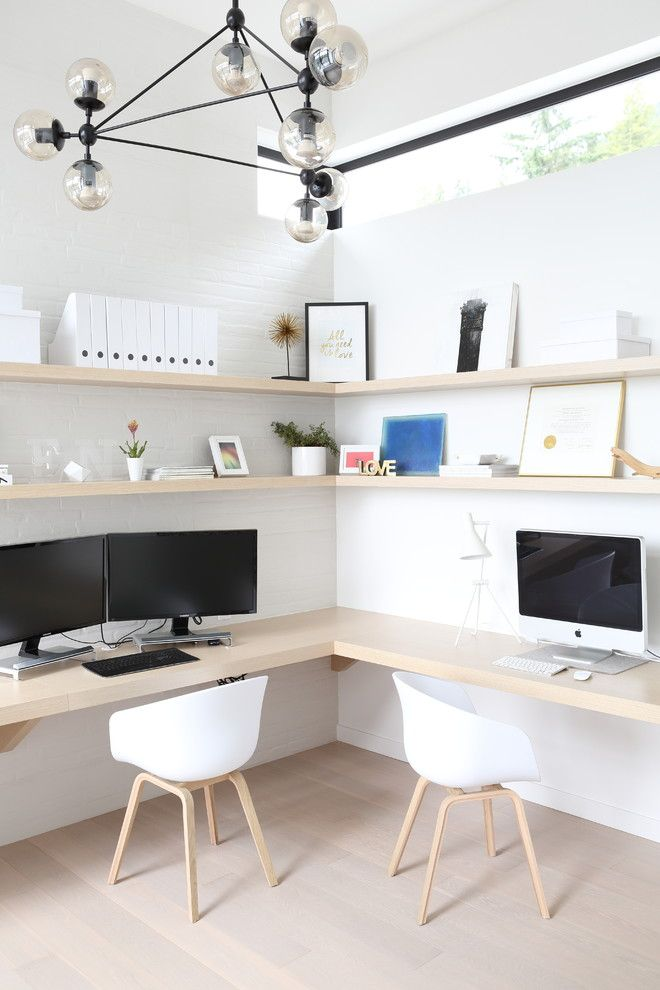 Mural Of Incredible Two Sided Office Desks For Stylish And Inviting Home Offices Ruang Kerja Kamar Anak Anak Ruangan