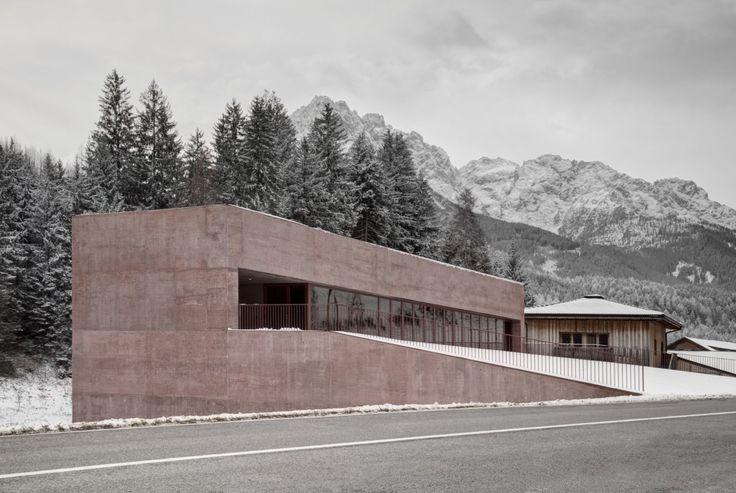 Pedevilla . new fire station . Vierschach (7)