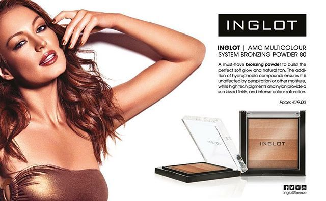 H @aegeanairlines και τα INGLOT σας προσφέρουν το απόλυτο bronzing powder, AMC Multicolour System Bronzing Powder 80, για να δημιουργήσετε το πιο ηλιοκαμένο μακιγιάζ εύκολα και απλά! #inglot #inglotgreece #inglotcosmetics #bronzer #bronzingpowder #aegeanairlines #summer #beauty #mameup