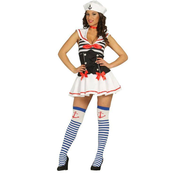 Disfraz de Marinera Sexy #disfraces #carnaval