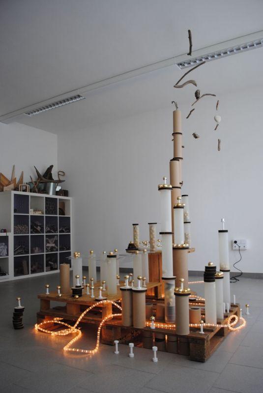 "Rope light, tubes & loose parts - at ReMida Bologna_Terre d'Acqua ("",)"