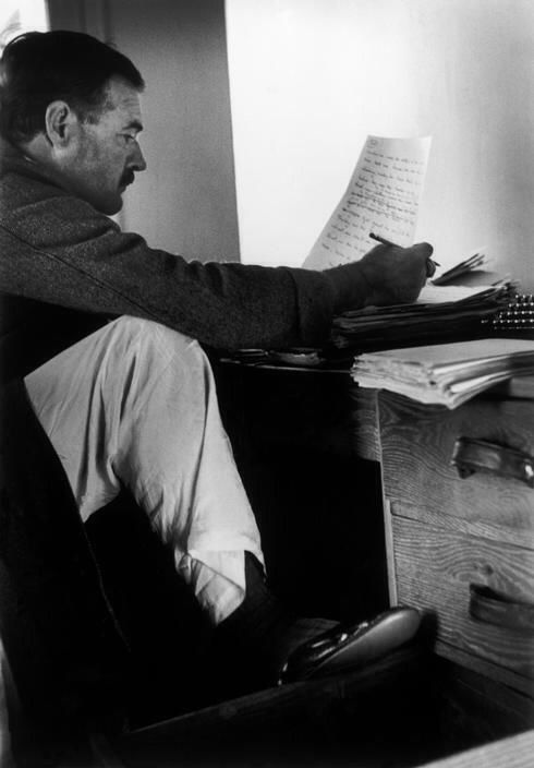 the writings of ernest hemingway The american writers series guests talk about ernest hemingway's life and writings and how the history of the 1920s and 1930s was characterized in his.