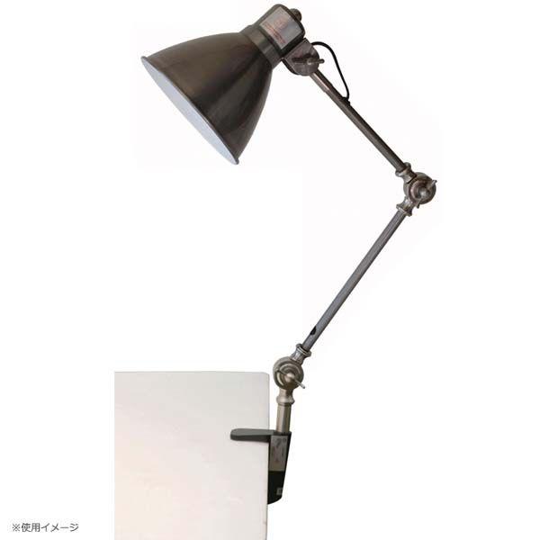 デスクランプ インダストリー EN-007 D ブラック・グリーン・サックスグレー・シルバー【グリップランプ デスクライト テーブルランプ テーブルライト スタンドライト クリップライト おしゃれ アンティーク レトロ かわいい 照明】