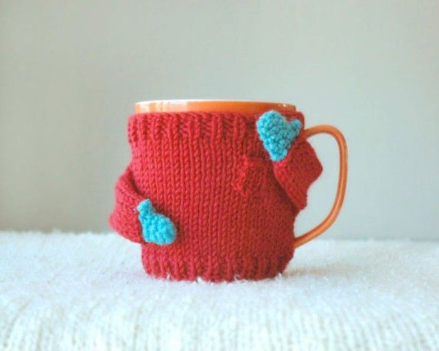Adorable Knits Sweaters for Your Coffee Mugs – Fubiz Media
