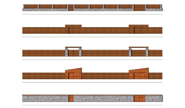 Gate and Boundary Design - CONCEPT Landscape Architects London