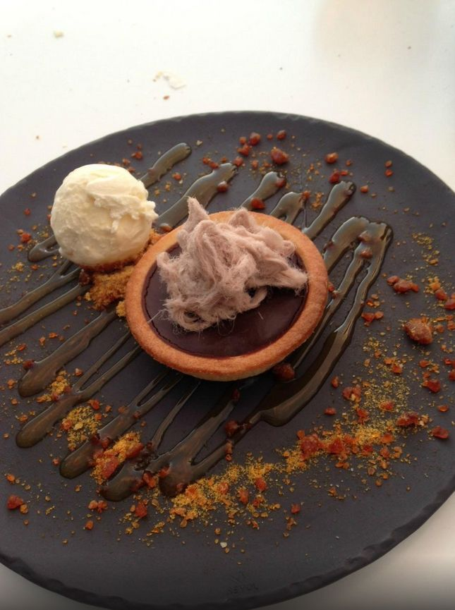 Rich Chocolate Tart from Rydges Chicane Bar & Grill at Rydges Mount Panorama Bathurst.