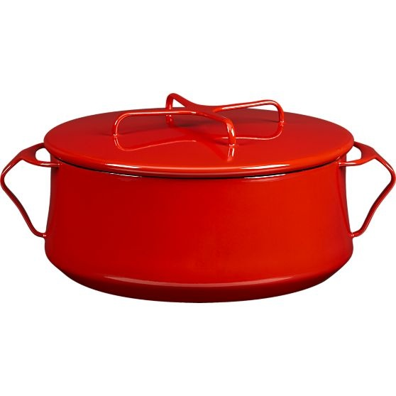 Dansk® Kobenstyle Red 4-Quart Casserole