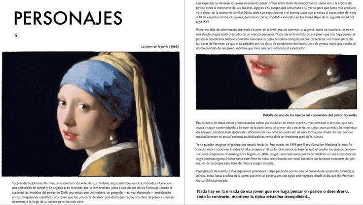 Página interior de Vermeer