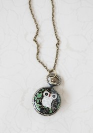 Owl Watch Necklace - great website for cheap and cute jewelry