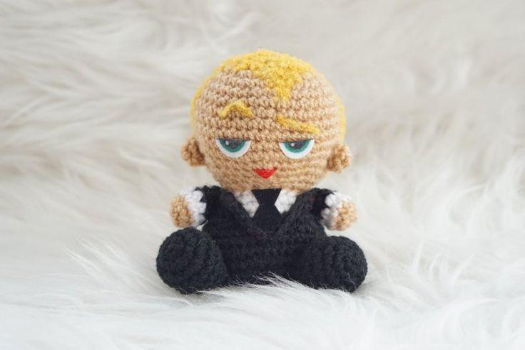 Com este padrão de Amigurumeria você vai ver como fazer um Baby Boss Pattern Ami ...