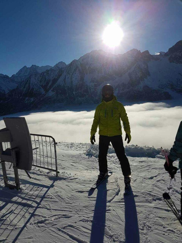 Italy ski slope