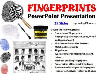 forensic science powerpoint presentations