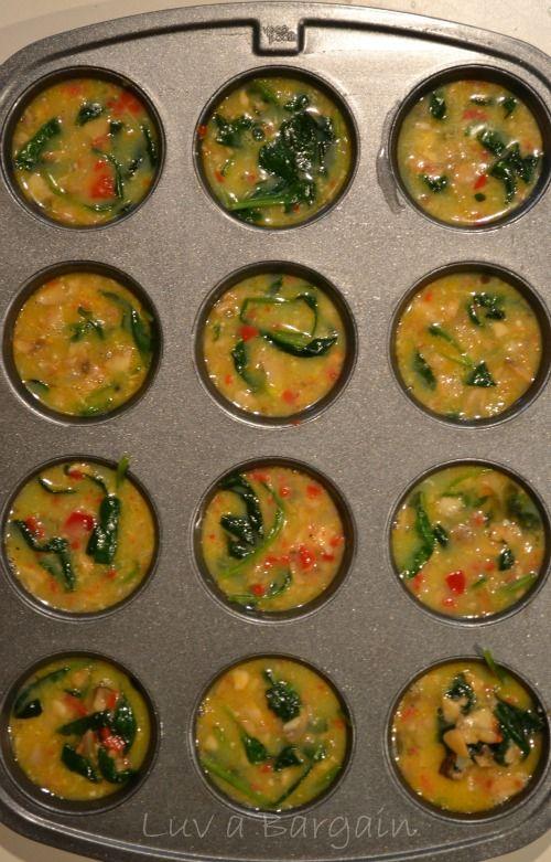 Spinach Quiche Muffins4